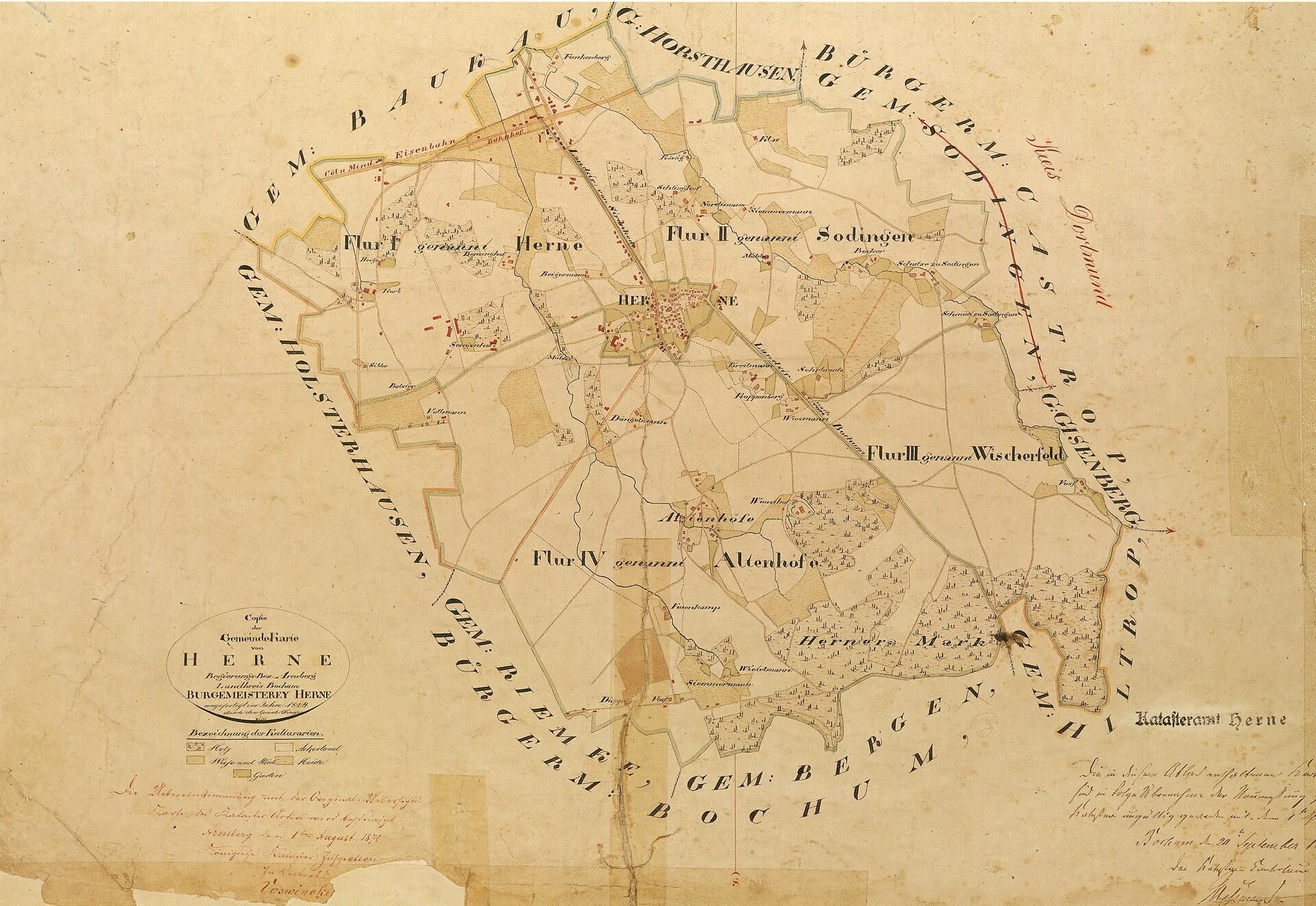 Gemeindekarte von Herne_1824.jpg