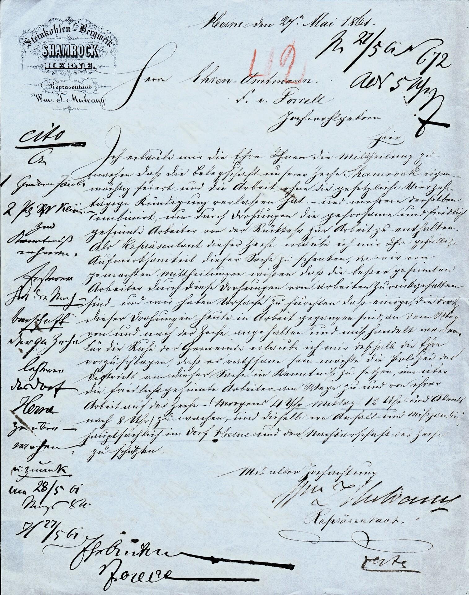 Schreiben über den Streick_1861.jpg