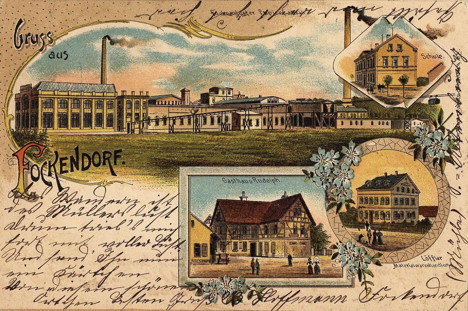 Ansichtskarte aus Fockendorf
