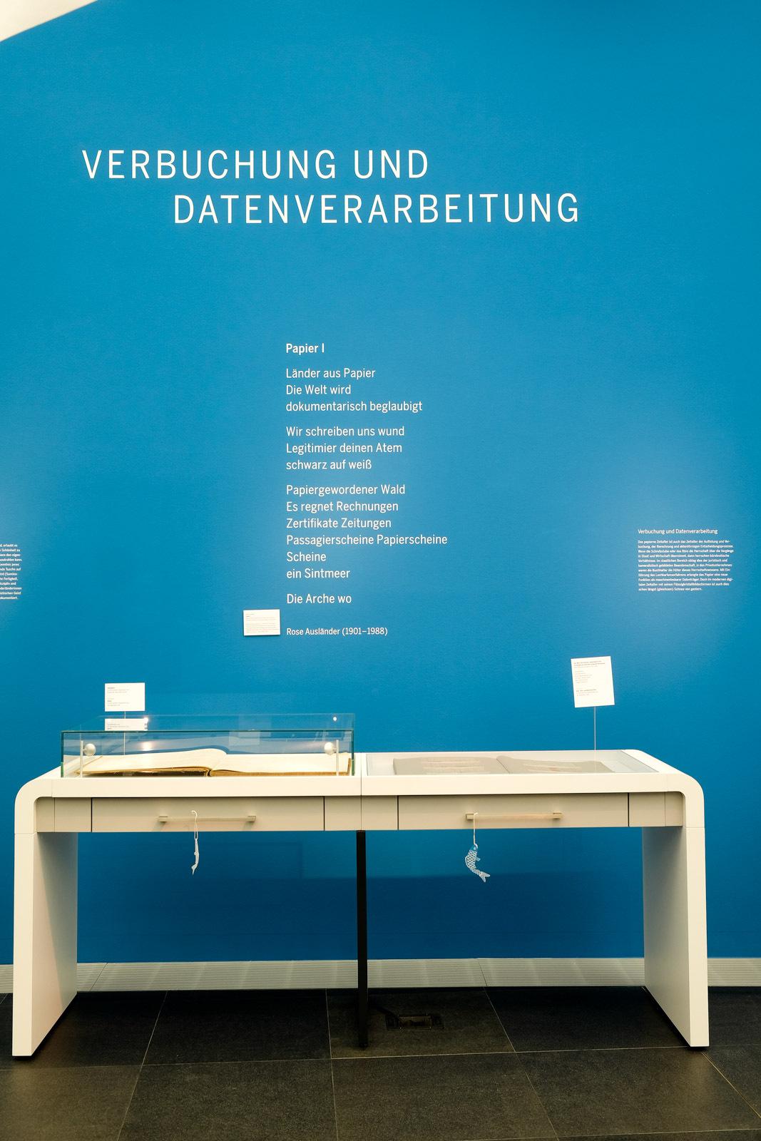 Verbuchung und Datenverarbeitung