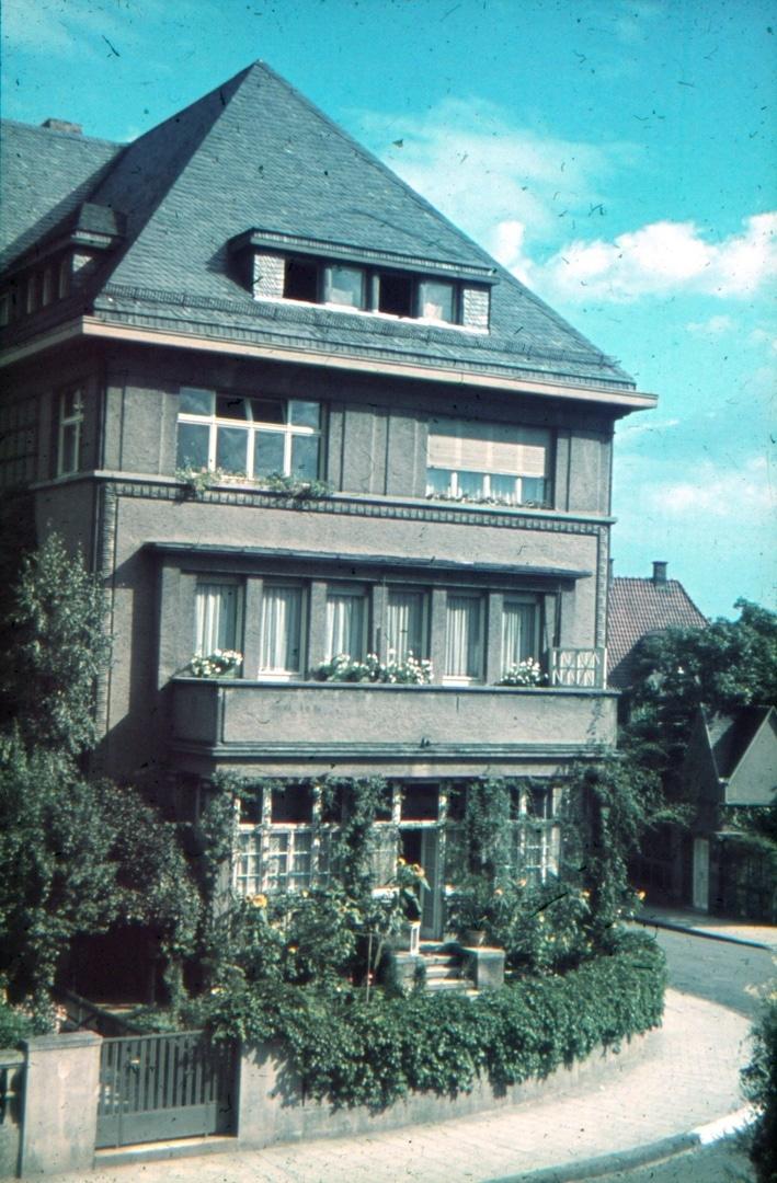 Haus Olbrichweg 14, Wohnhaus der Familie Limmer im Jahr 1942
