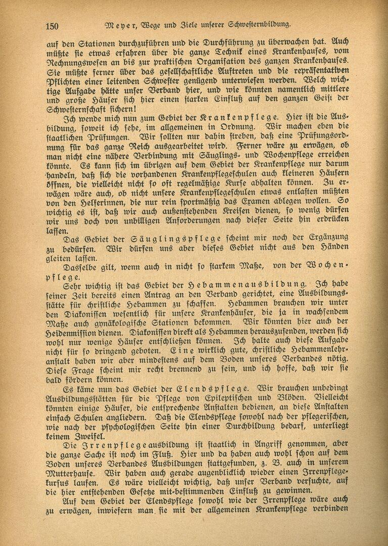 Ausbildung 3_Die Diakonisse 1927_Vortrag_Wege und Ziele unserer Schwesternbildung_Pastor Meyer, Seite 5.jpg