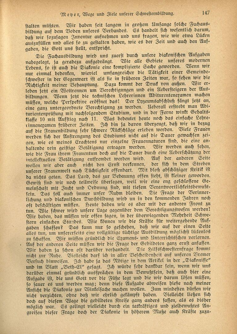 Ausbildung 3_Die Diakonisse 1927_Vortrag_Wege und Ziele unserer Schwesternbildung_Pastor Meyer, Seite 2.jpg