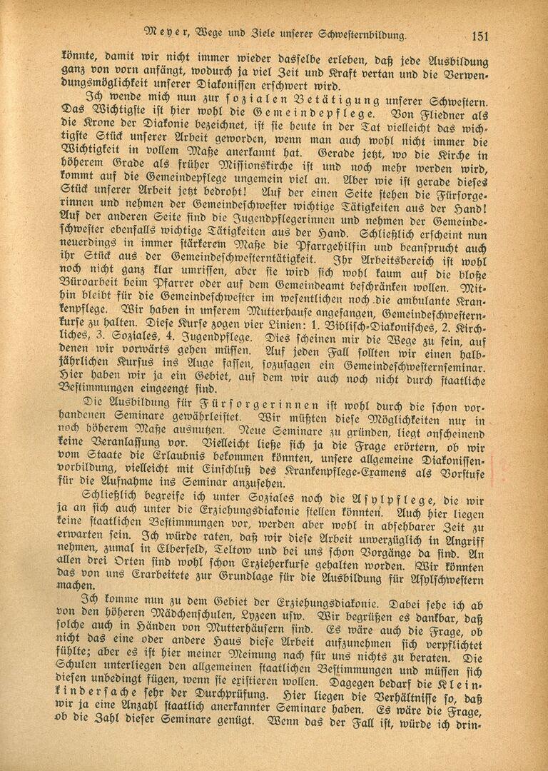 Ausbildung 3_Die Diakonisse 1927_Vortrag_Wege und Ziele unserer Schwesternbildung_Pastor Meyer, Seite 6.jpg