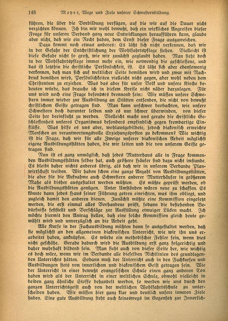 Ausbildung 3_Die Diakonisse 1927_Vortrag_Wege und Ziele unserer Schwesternbildung_Pastor Meyer, Seite 3.jpg