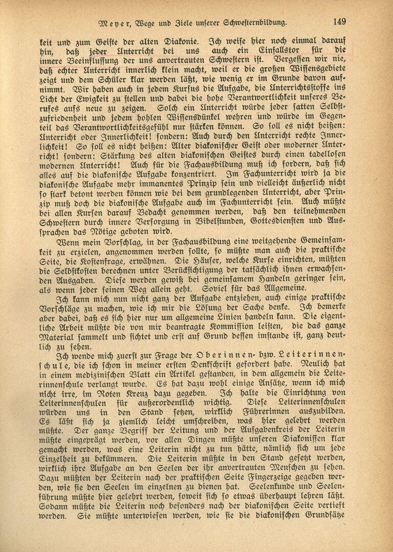 Ausbildung 3_Die Diakonisse 1927_Vortrag_Wege und Ziele unserer Schwesternbildung_Pastor Meyer, Seite 4.jpg
