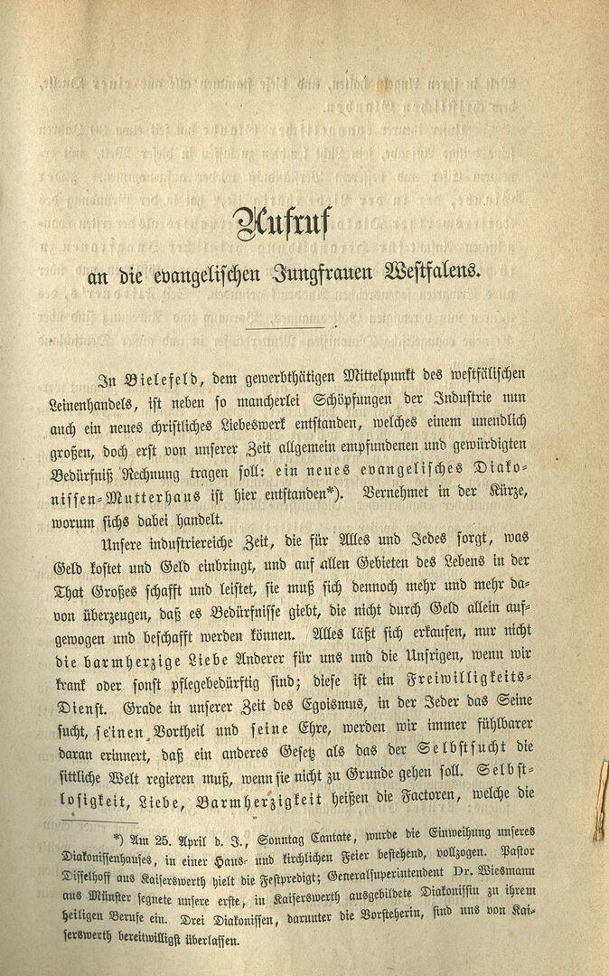 Bielefelder Sonntagsblatt 2. Mai 1869, Aufruf, Seite 1.jpg