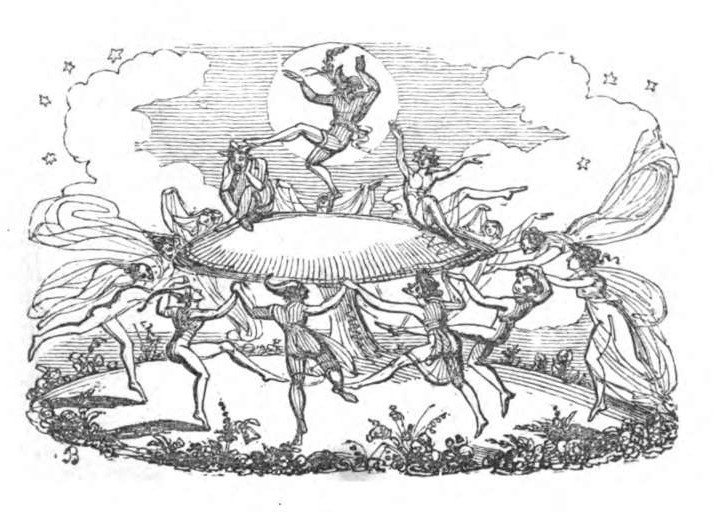 Illustration aus Thomas Crofton Croker: Fairy Legends and Traditions of the South of Ireland, London 1834.