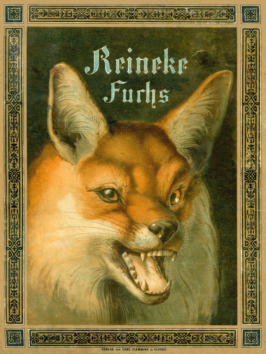 Reineke Fuchs. Ein heiteres Kinderbuch (Freie Nachdichtung des niederdeutschen Reinke de Vos.). Mit 12 Bildern von Fedor Alexis Flinzer, Glogau 1881.