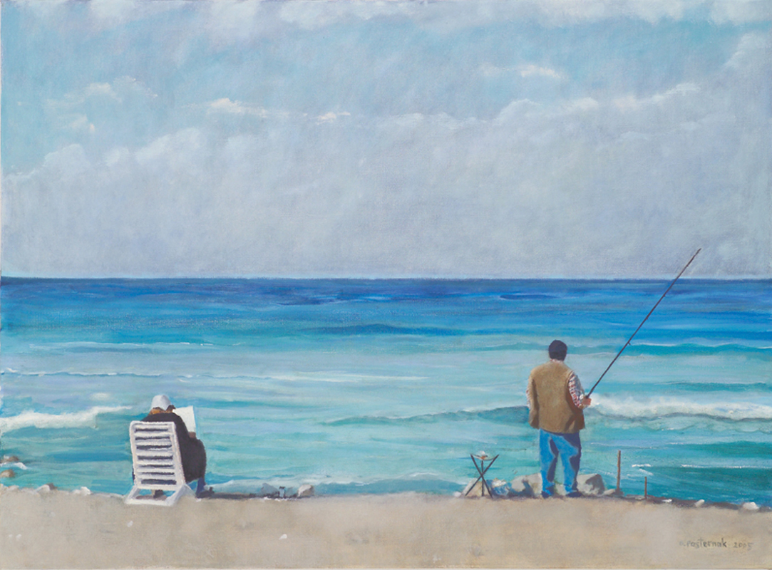 The Fisherman and His Wife, Anna Pasternak, 2005