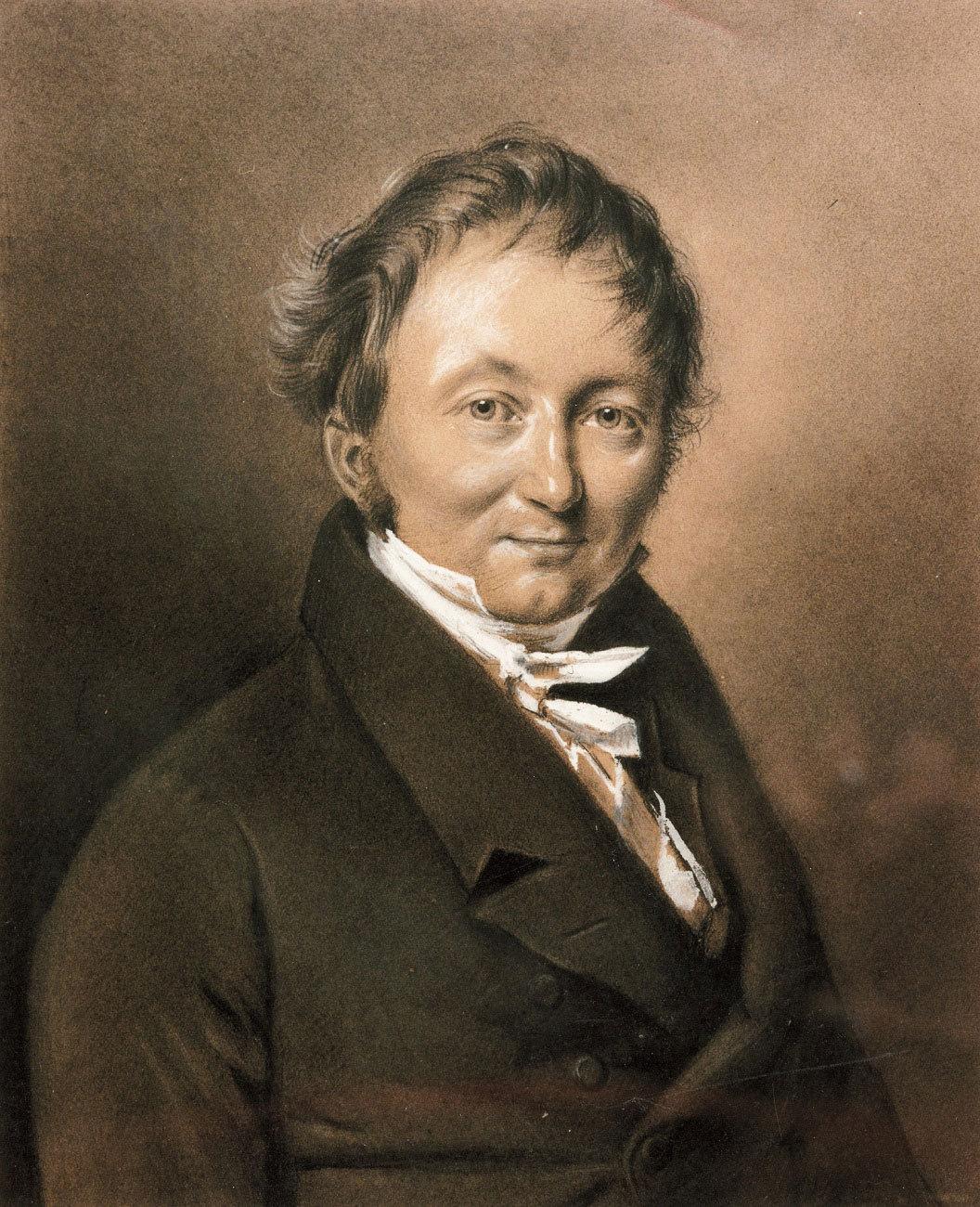 Karl (von) Drais (1785–1851), um 1820
