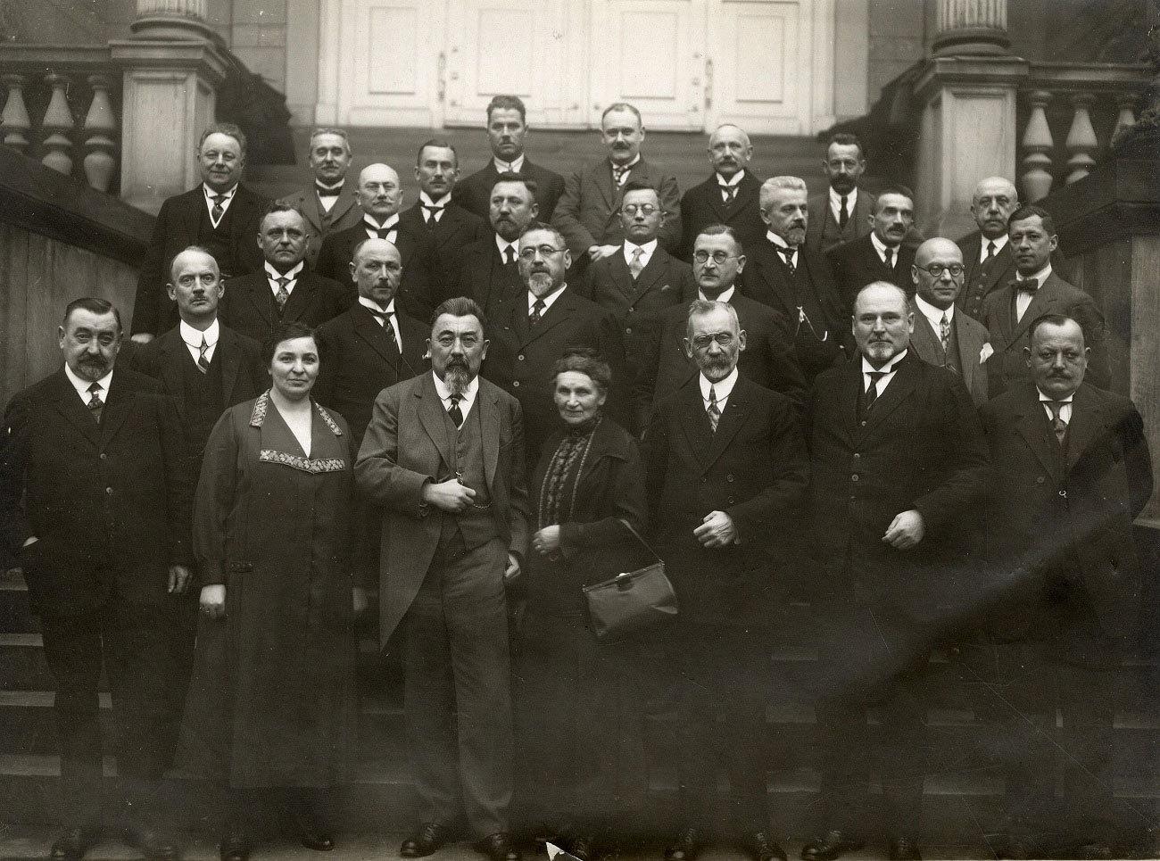 Der Karlsruher Stadtrat im Dezember 1926