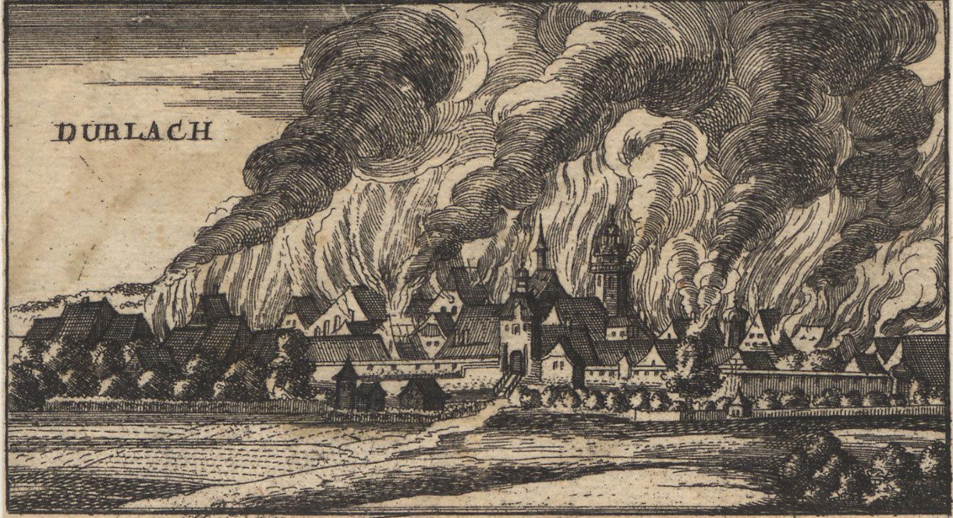 Das brennende Durlach