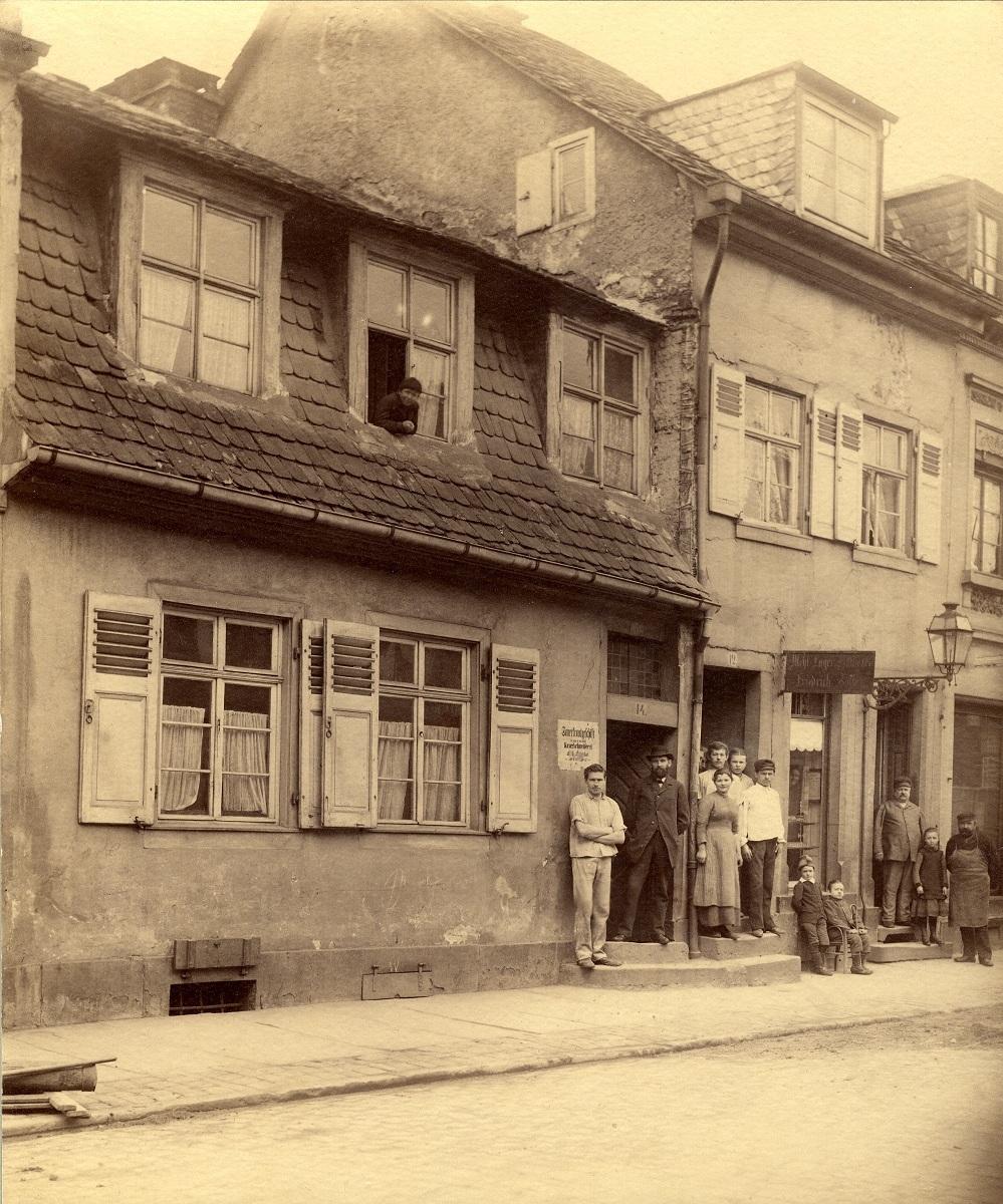 Karlsruher Modellhaus, um 1885