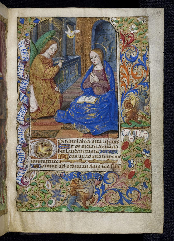 Stundenbuch des Markgrafen Christoph I. von Baden, 15. Jh