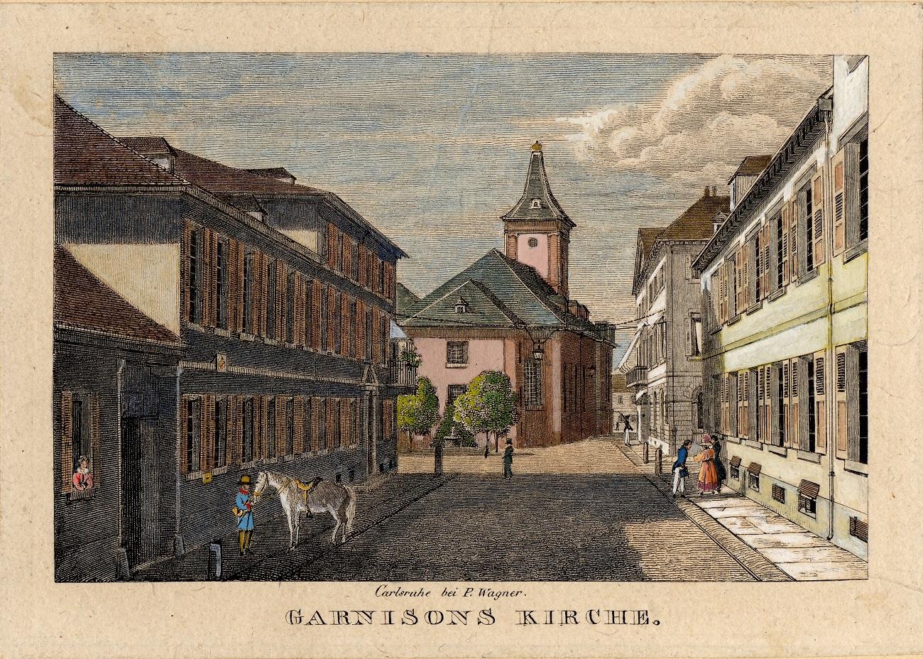 Die Kleine Kirche, nach 1840