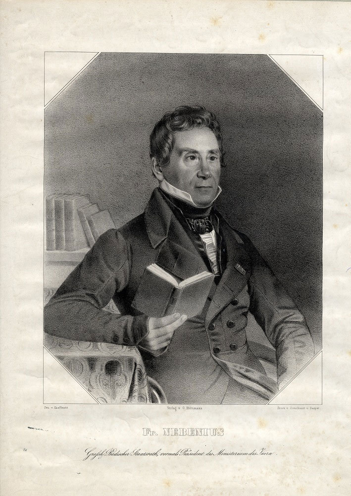 Karl Friedrich Nebenius (1784–1857)