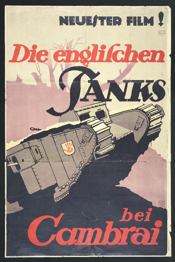 Die englischen Tanks bei Cambrai