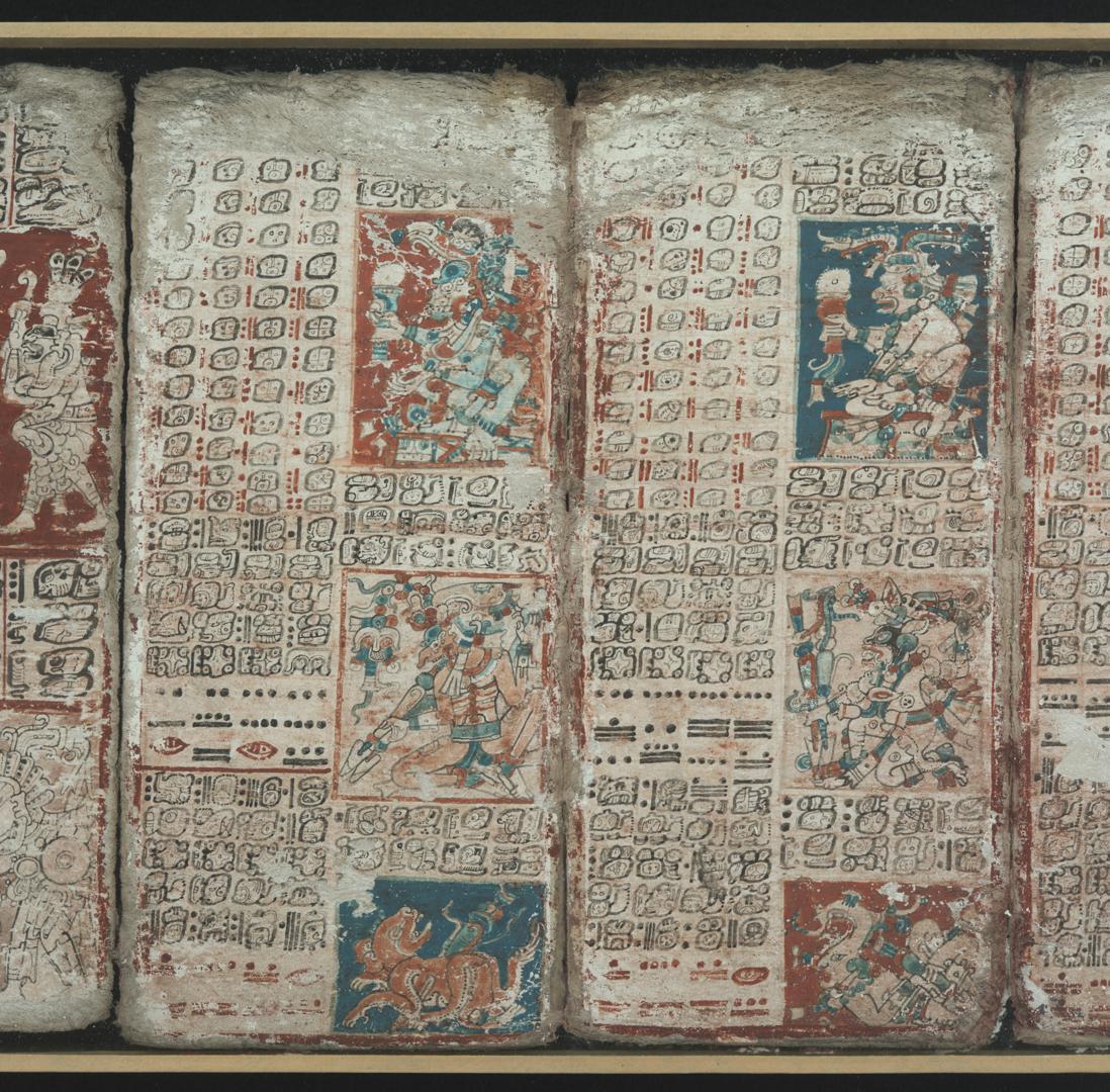 Codex Dresdensis, S. 47/48: Venustafeln
