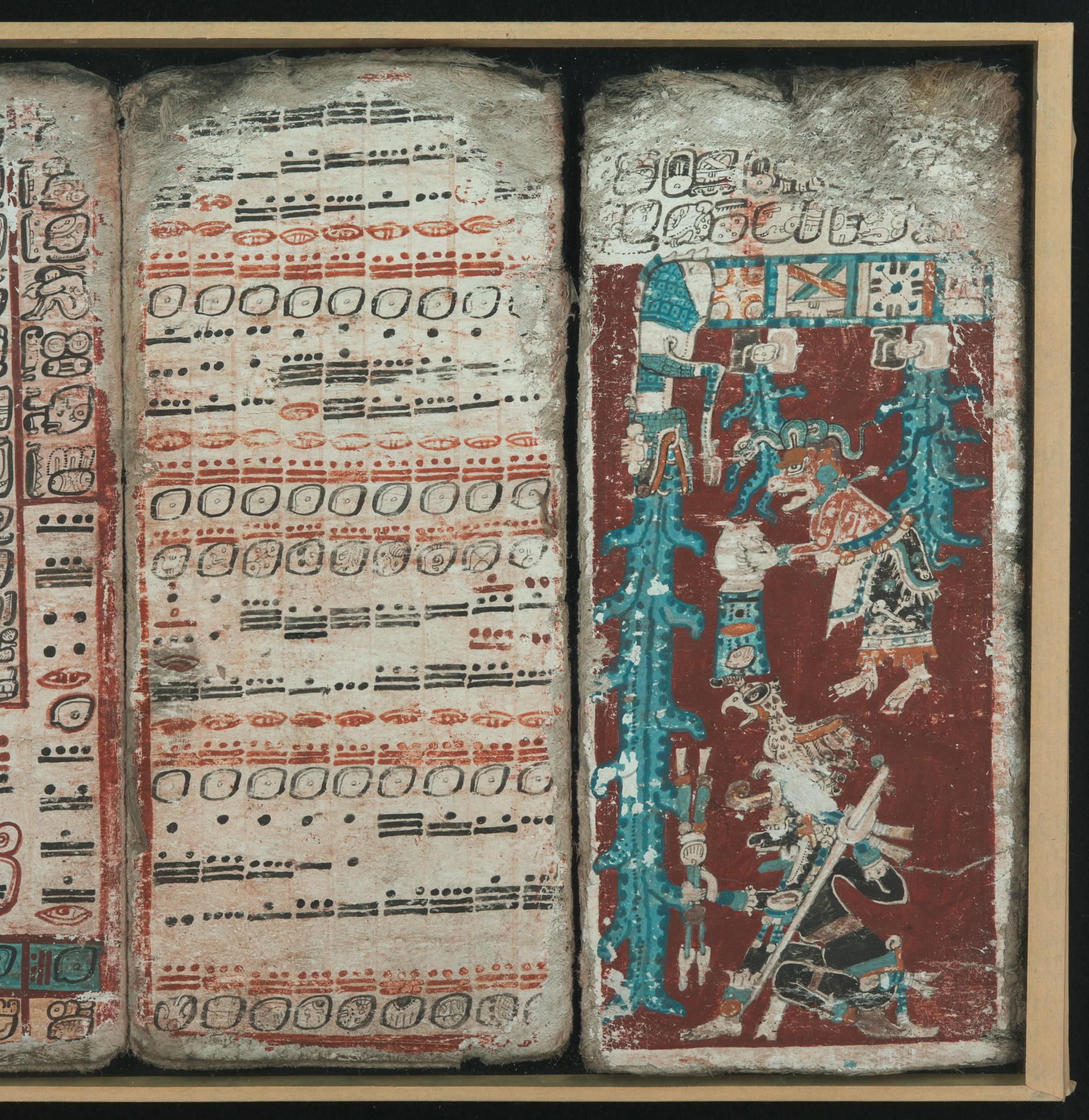 Codex Dresdensis, S. 74: Die große Flut