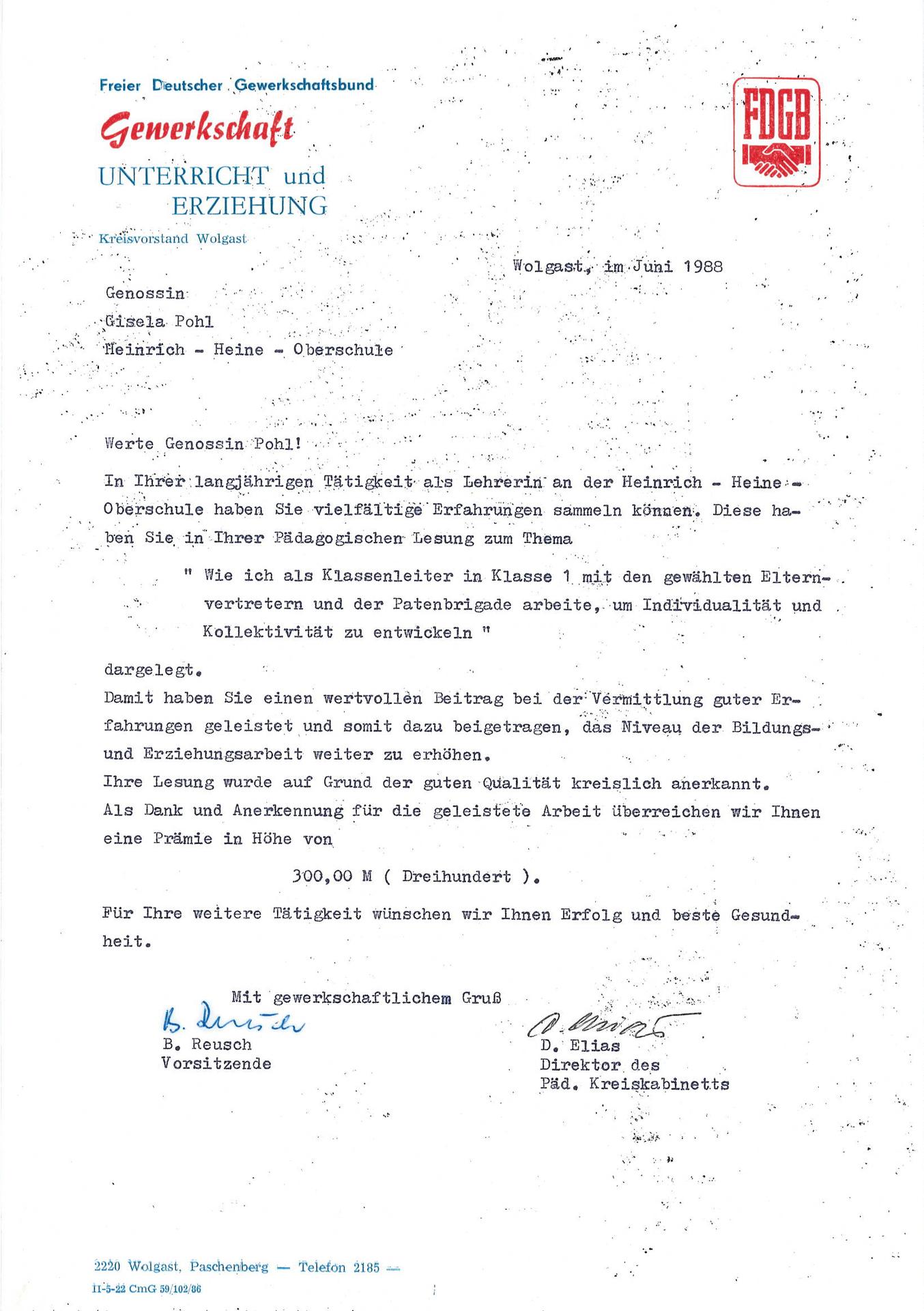 00003_Anschreiben PKK and Autorin Gisela Pohl vom Juni 1988.jpg