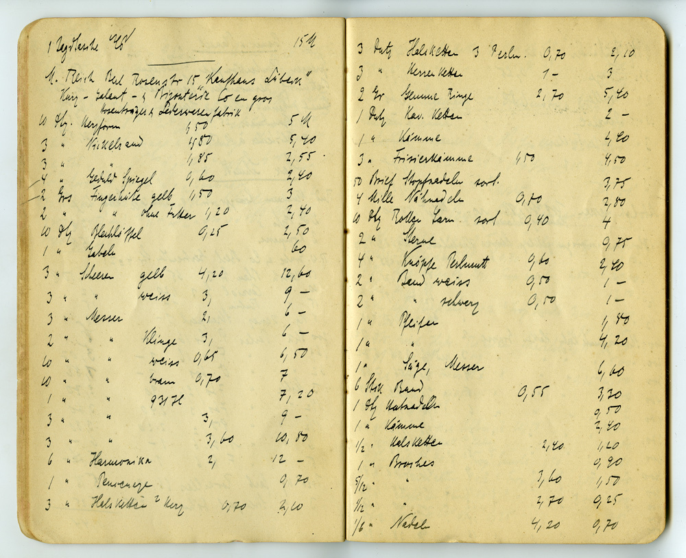 Notizbuch von Konrad Theodor Preuss, Heft 1, Seite 17
