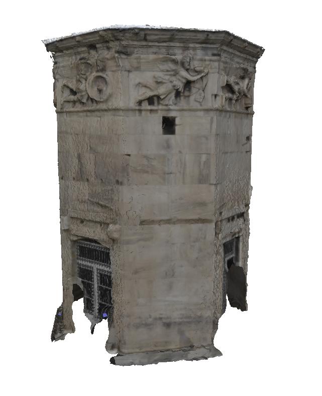 Turm der Winde (3D-Modell)