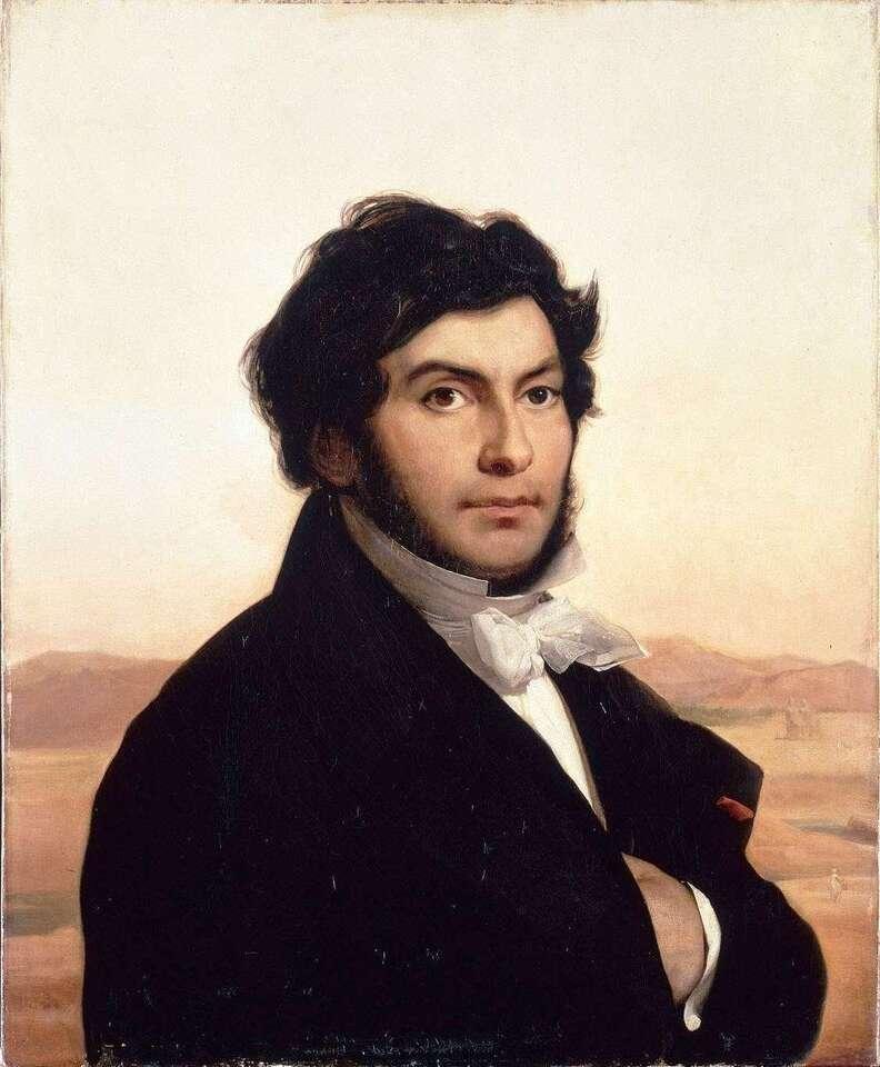 Jean-Francois Champollion, portrait by Cogniet.jpg