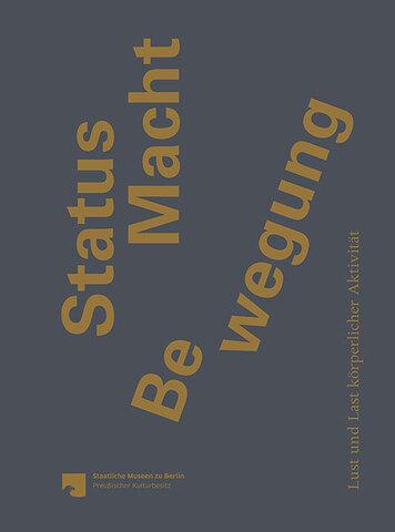 Cover STATUS MACHT BEWEGUNG Sandstein Verlag.jpg