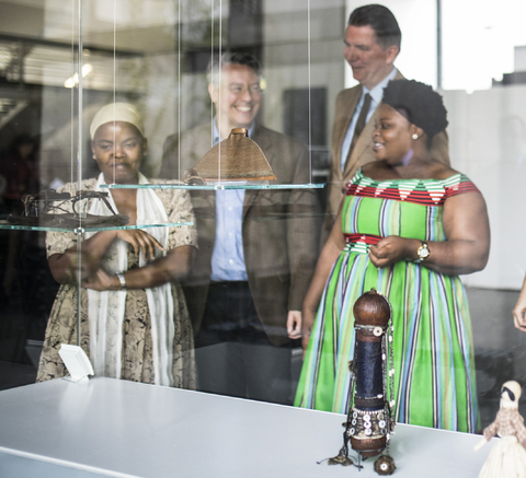 Pressekonferenz 18.September 2019, Foyer der Museen Dahlem