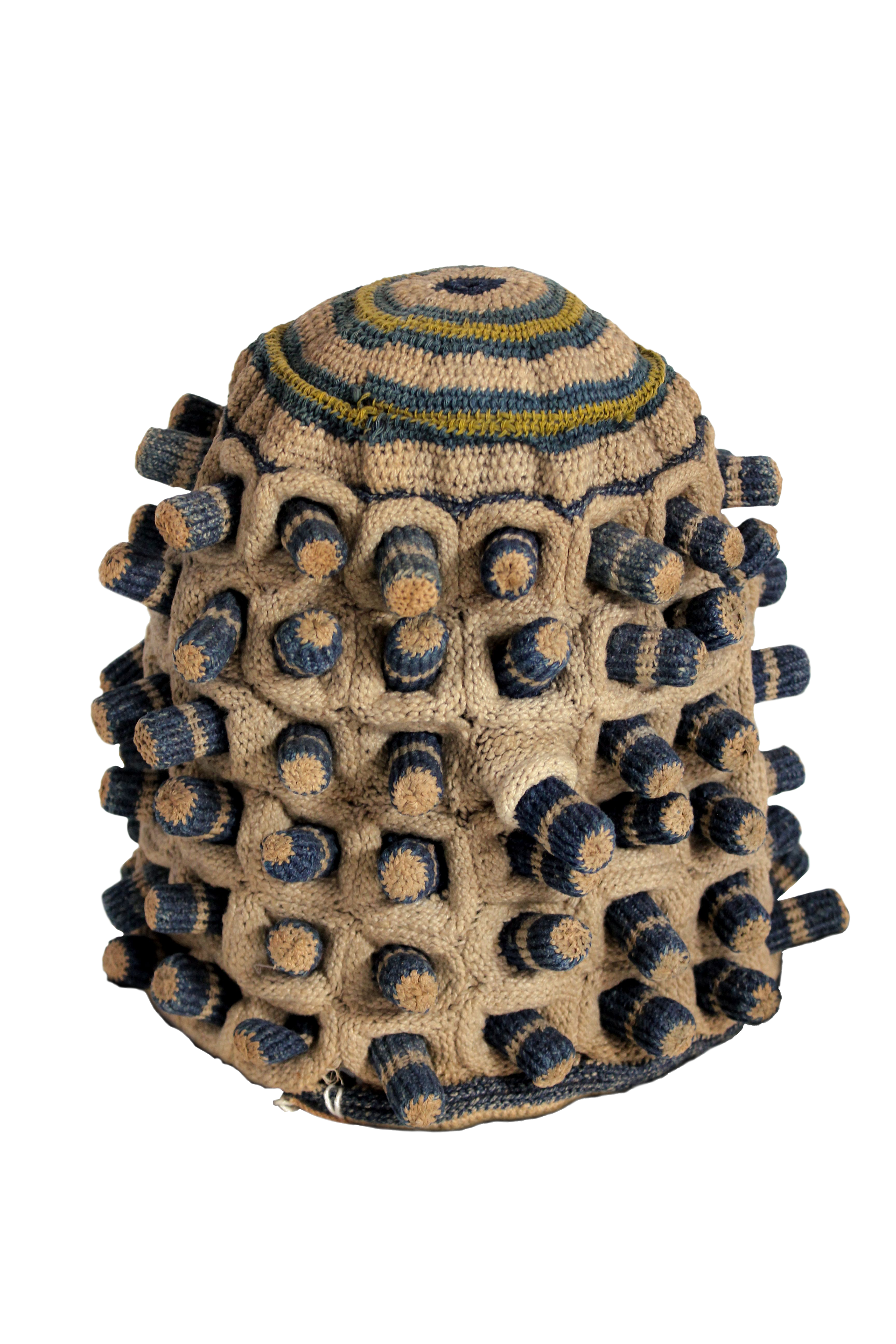 3D-Darstellung der Mütze aus Kamerun